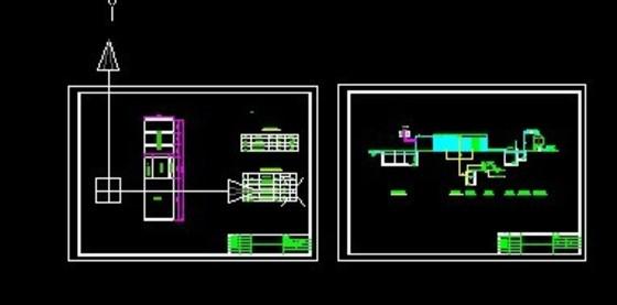 宅楼水电工预埋图纸蓝图-水电工程预埋图纸符号