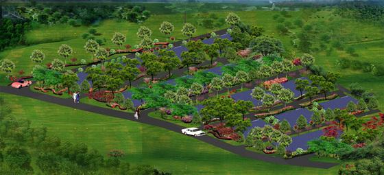别墅小区景观绿化