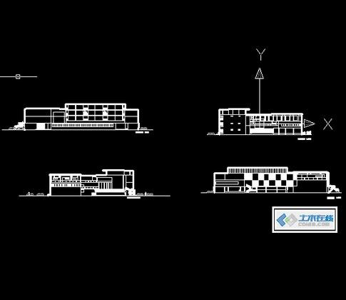 大学专业图书馆设计