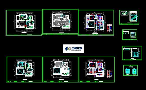 120平米复式楼建筑图图片