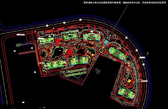 景观规划设计图纸信息 城镇及街道规划风景区及度假村居住区规划设计