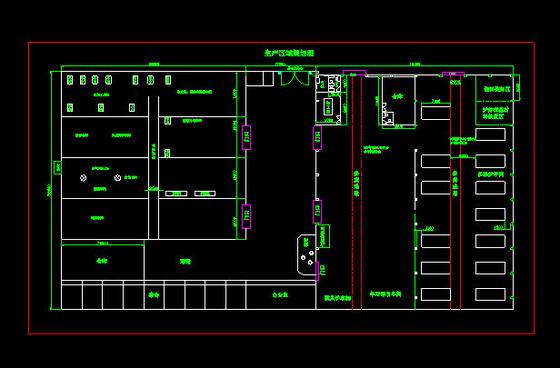三居室平面布置图展示