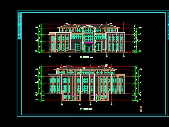 类别: 住宅建筑 4层框架办公室施工图 类别: 办公建筑 三层沿街商业
