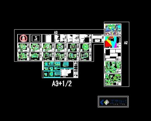某高档别墅设计图17.6x13.5.