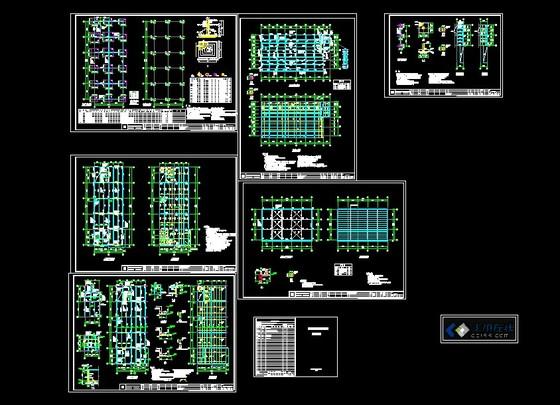 户型图,cad建筑户型平面图