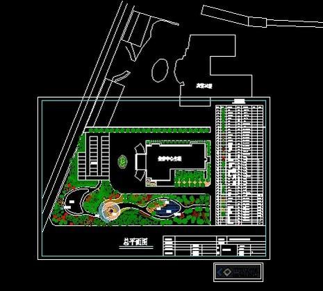简介: 一副宾馆庭院景观设计平面图,宾馆小游园的景观设计.