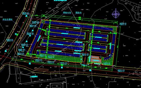 4kv变电所ems能源管理系统设计图 某二层车站地板采暖通风与空调平面