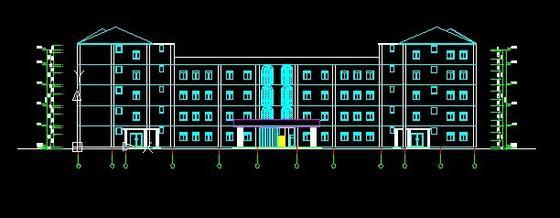 设计学校教学楼平面设计图