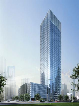 欧式办公楼效果图政府办公楼效果图 相关分类:建筑图纸办公楼设计高层