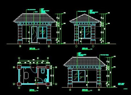 木亭结构图
