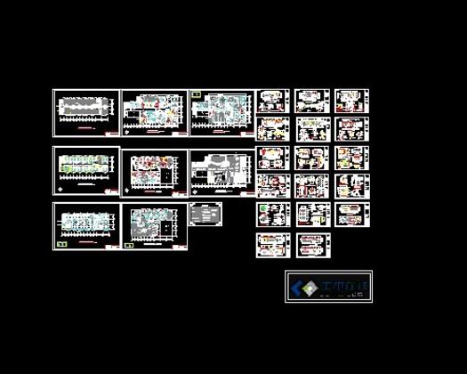 装修图_第8页_CO土木在线(原网易土木在线)cad2d图图片