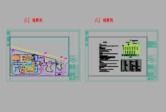 室外景观照明设计施工图