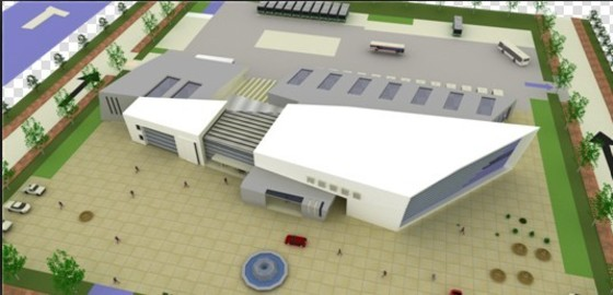 青岛胶东机场停车场施工图纸