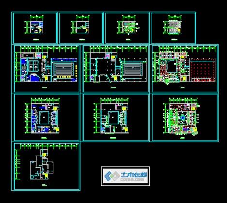 发布日期:2010-08-12  某食堂钢结构建筑图 10 简介: 首层平面图,二层