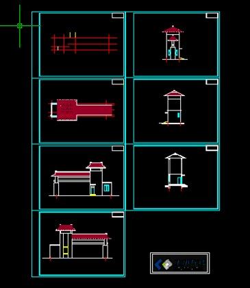 平房四合院设计图及效果图展示