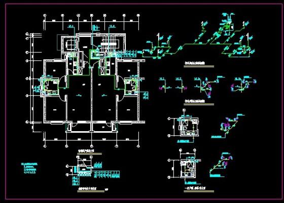 高层住宅 第9页 co土木在线高层住宅图纸专辑 高清图片