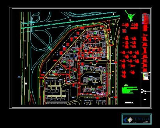 问:如图,某住宅小区在施工过程中留下了一块空地(图中的四边形abcd)