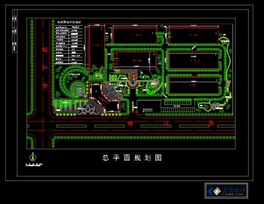 一套多层钢结构框架设计图(工业建筑)  厂房规划图效果图,办公,厂房图片