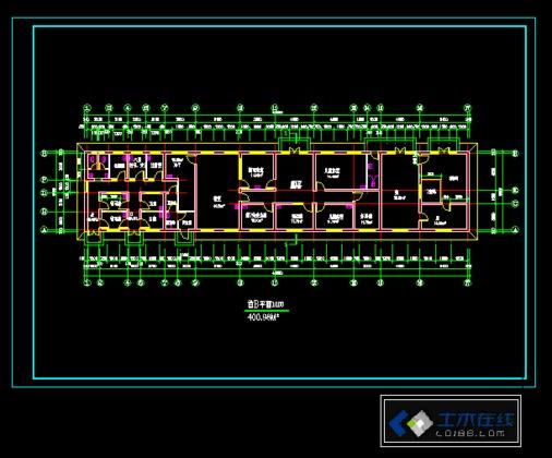 某医院五层框架结构医疗建筑设计施工图纸