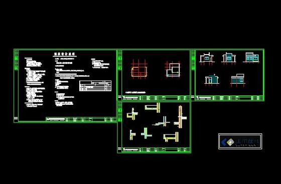 新丰小区别墅建筑图