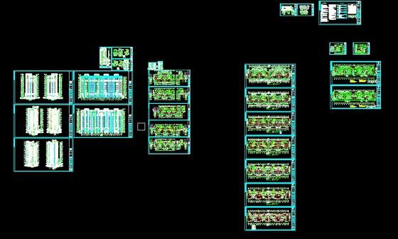 建筑加结构一整套图纸