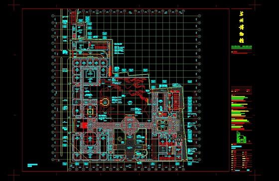 苏州博物馆全套cad-一层平面图