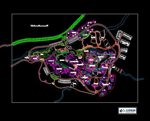 园林景观规划设计手绘图