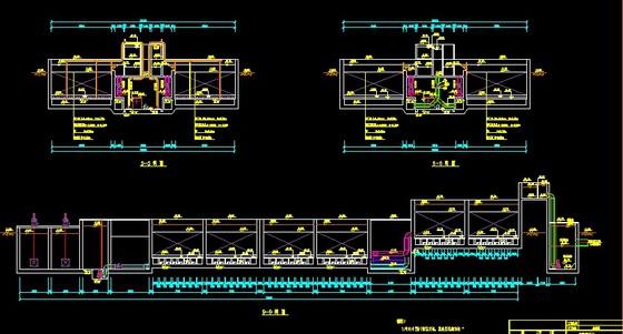 小型污水处理工艺设计 50 简介: 小型生活污水处理工艺流程,及详细