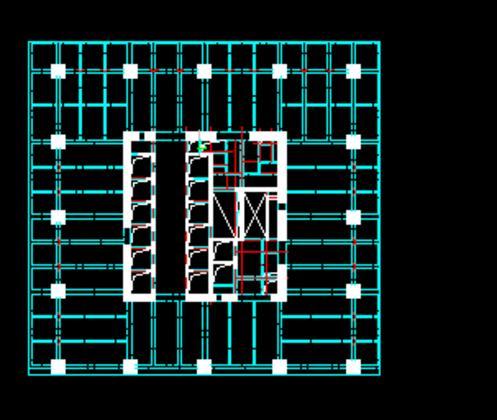 简介:200米超高层框架核心筒结构,基础采用柱基础,外围柱采用钢骨