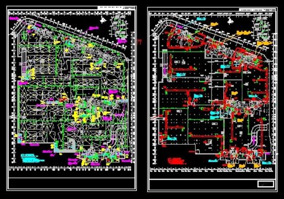 地下室通风防排烟设计图