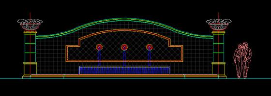 园林设计图,cad园林设计图