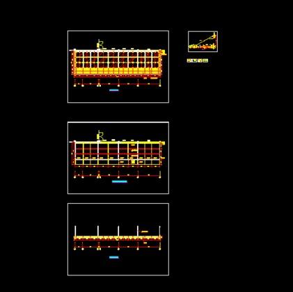 钢结构雨棚施工图