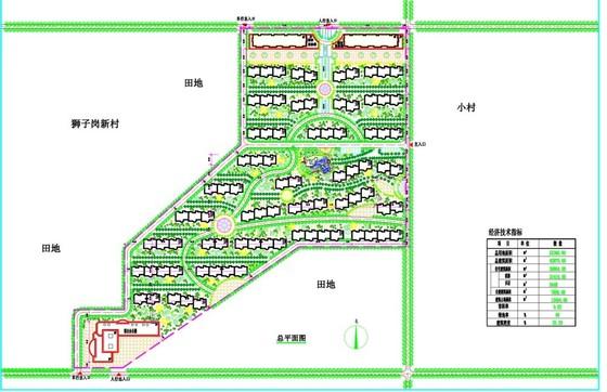 15套别墅设计方案(含平面图和正,侧立面图) 实用新型别墅设计方案9.