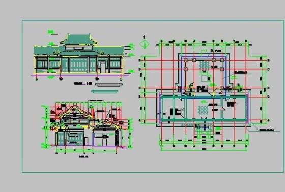 【建筑工程图纸】建筑设计图