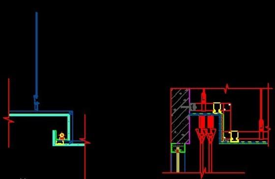 龙骨大样图吊顶龙骨节点图 相关分类:建筑图纸节点详图建筑构造与详图