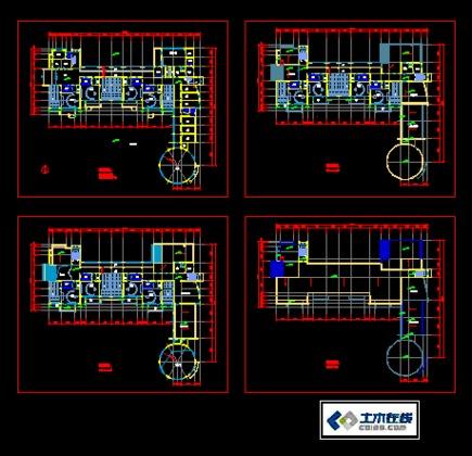 幼儿园建筑平面图