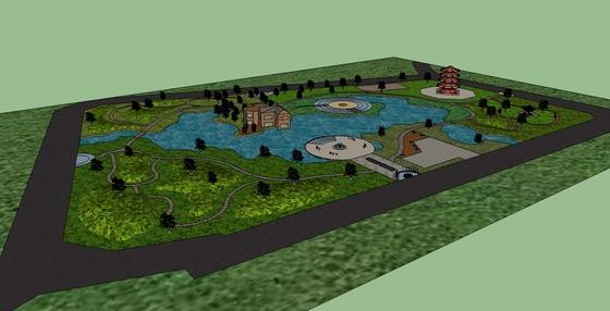 园林公园设计方案山体公园设计方案山地公园设计方案图片