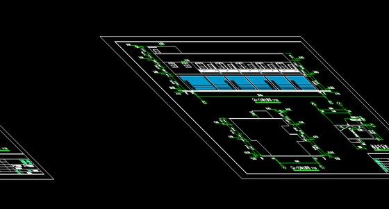 多层框架管理房(结构,建筑,水电)