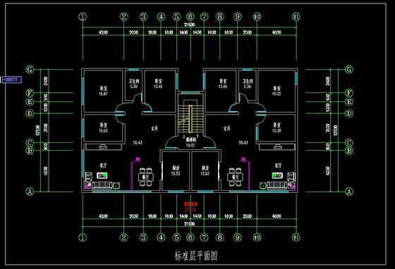 宁湖尚都豪庭2栋户型图(20130109) 高层塔楼彩色户型图_全国知名甲级
