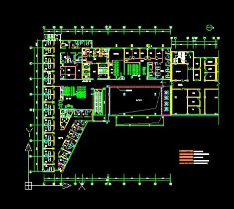 健身房二楼设计图