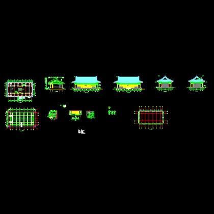 贵州木结构房屋结构图