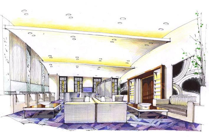 相关专题:室内手绘效果图 室内设计手绘效果图 咖啡厅