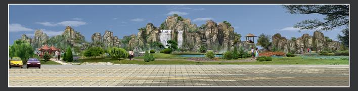 园林假山设计