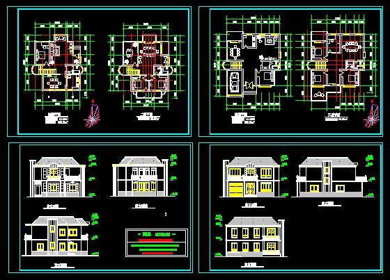 相关专题:别墅设计施工图 农村别墅设计施工图 豪华别墅设计施工图