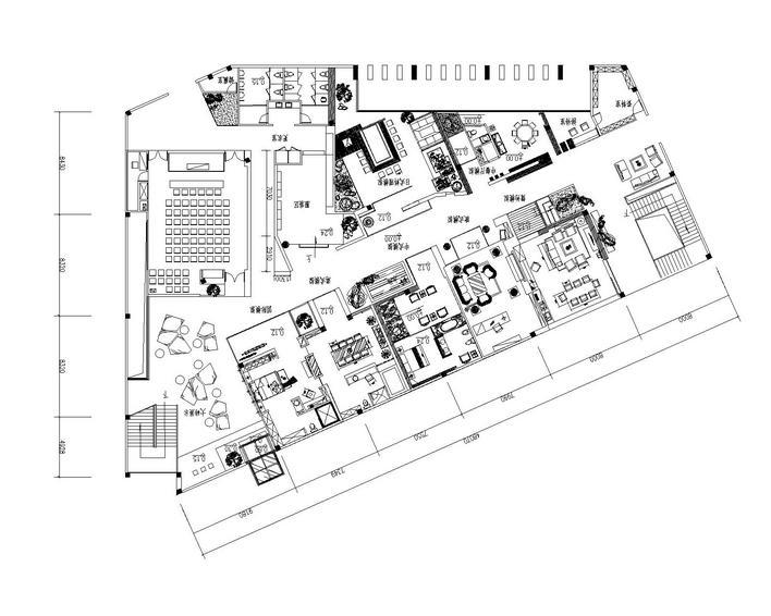 陶瓷展厅设计平面图 _网络排行榜图片