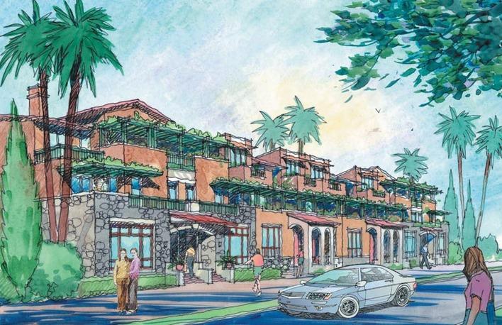 低層住宅別墅手繪圖