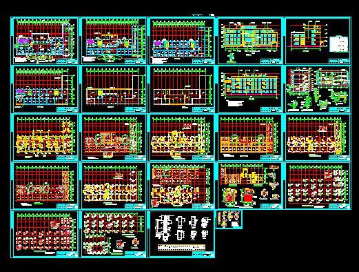 全套医院建筑结构施工图