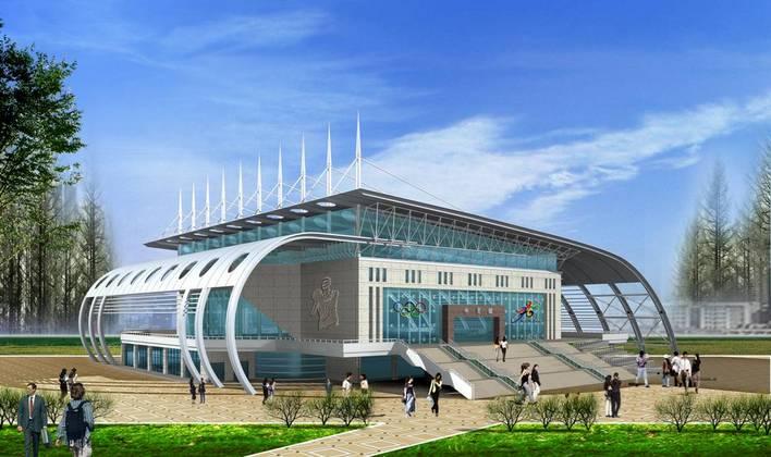 学校体育馆设计方案 体育馆设计方案 大学体育馆设计方案 体育馆施工