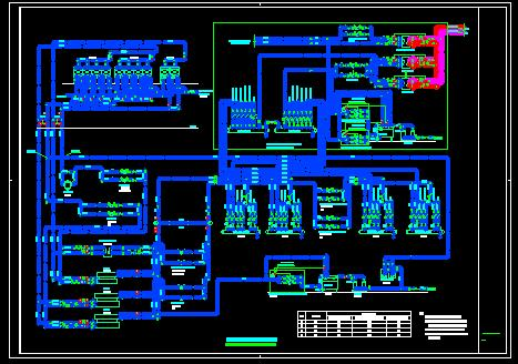 空调冷热源原理图,电制冷