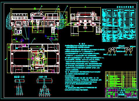 简介 桥式起重机电气原理图高清图片